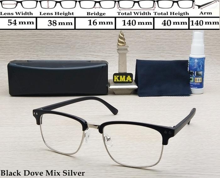 PALING LARIS kacamata minus frame clubmaster kacamata club master unisex terbaru