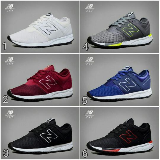 Promo Sepatu Pria Sneaker Olahraga Running Kuliah Sneakers Casual NB Import Fashion