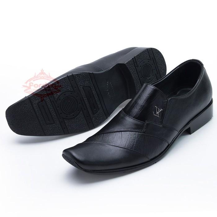 Sepatu Pantofel Kulit Untuk Kerja Kantor Bukan Kickers 902Ht - Hmcidz