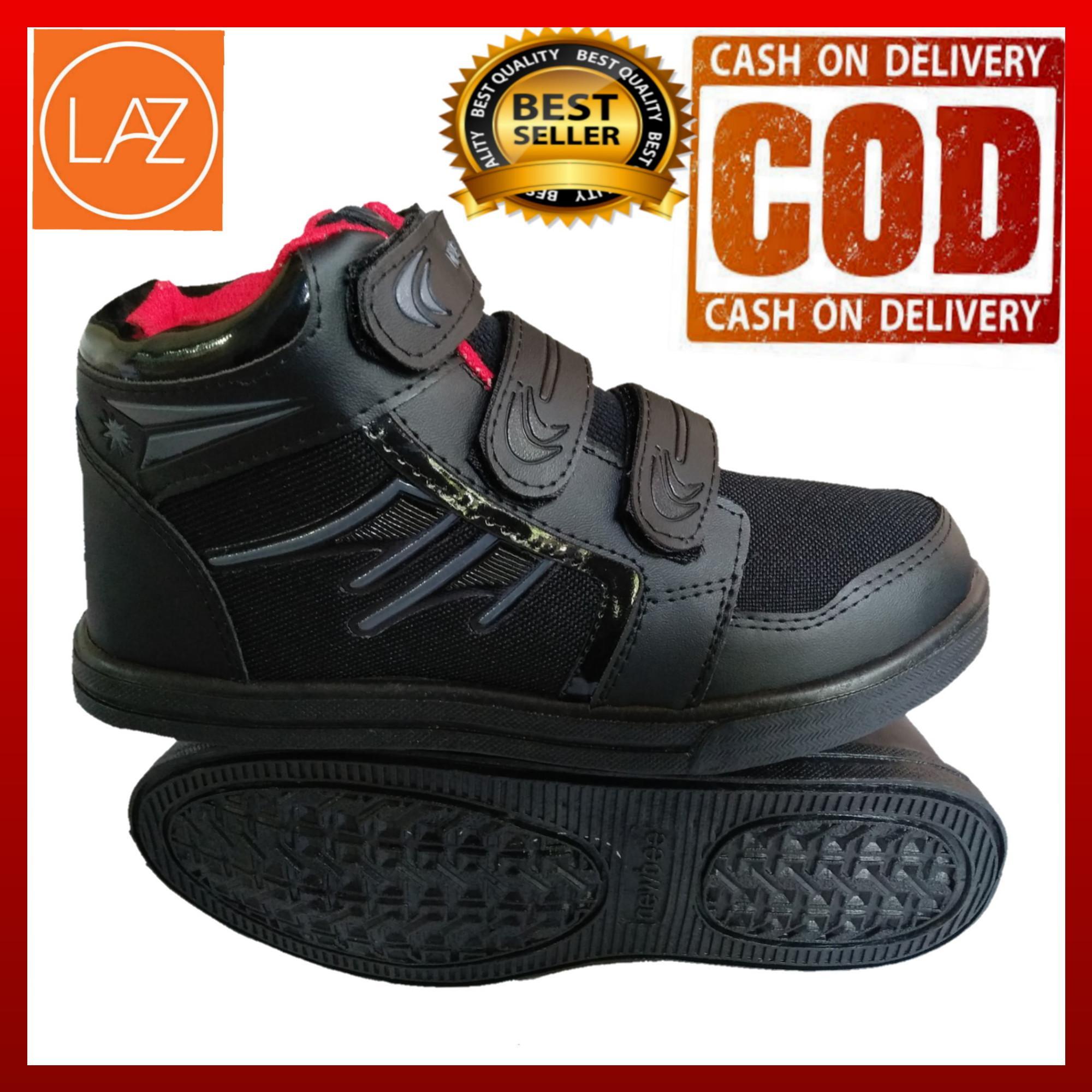 Sepatu Anak Sekolah warna hitam Terbaru   Sepatu anak Sekolah Warna Hitam  Slip On 0d578c2216