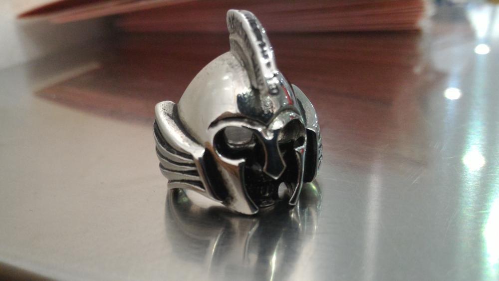 Spartan Titanium cincin ring army ninja warrior gta pes 2016 crossfire combat arms counterstrike skeleton  fallout skull tengkorak sparta uno stacko lego point blank  di lapak SALE STOKIST sale_stokist
