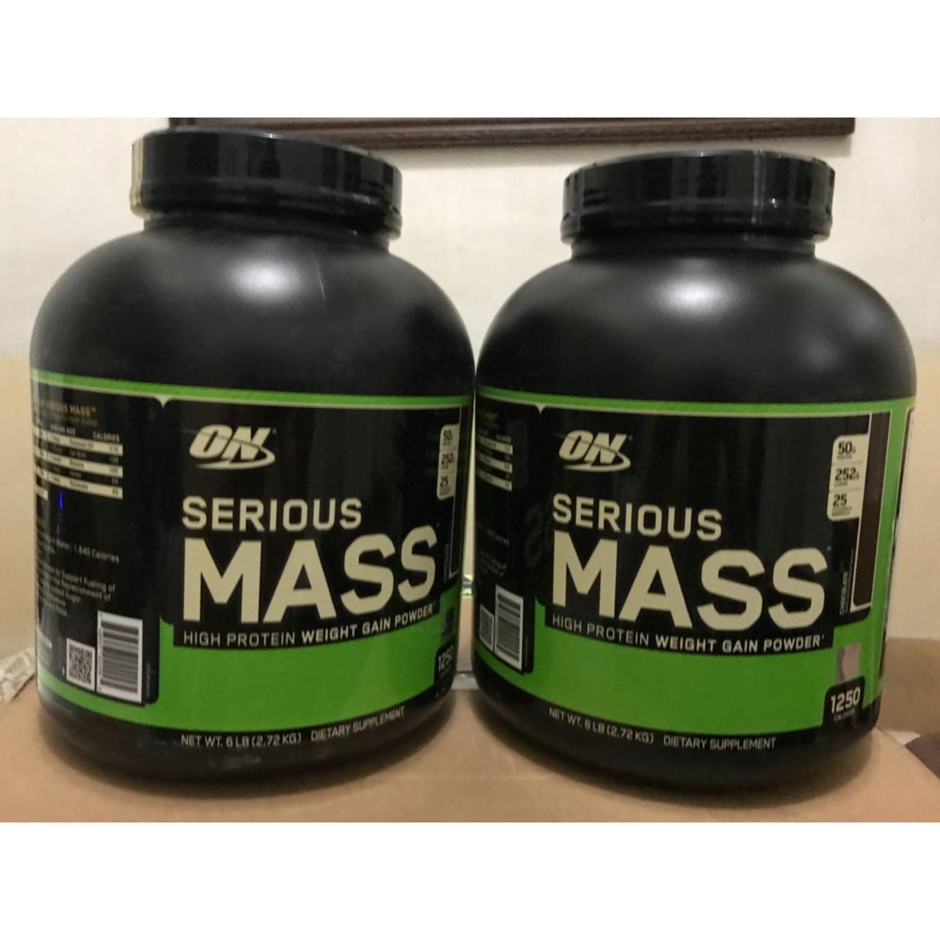 On Serious Mass 6 Lb Serious Mass Gainer By Susu Fitnessku.