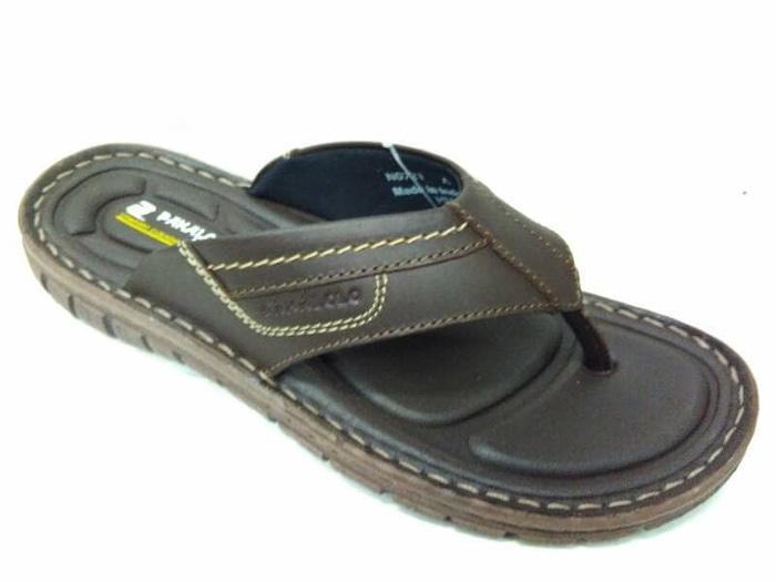 Sandal Kulit Pakalolo N0721 - Brown