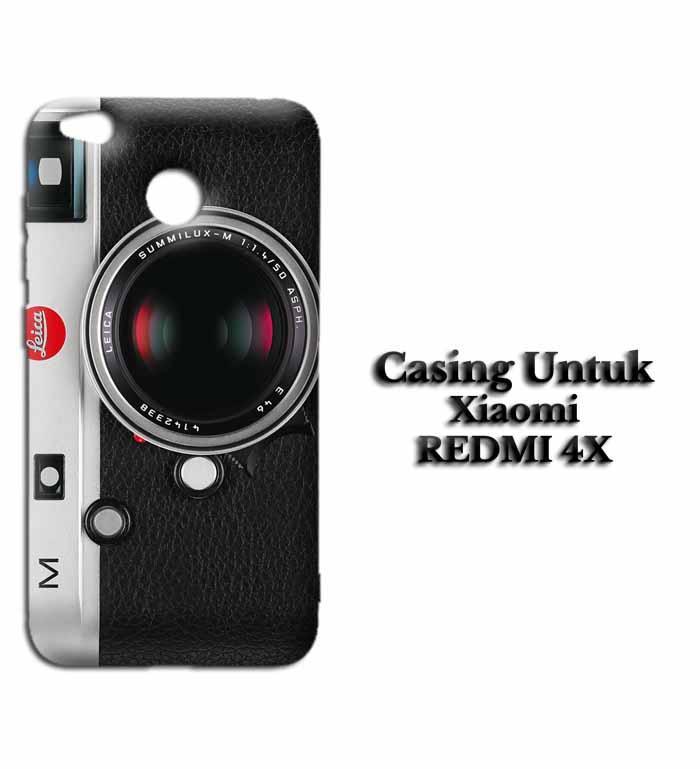 Casing XIAOMI REDMI 4X camera leica m 240 Hardcase Custom Case Se7enstores