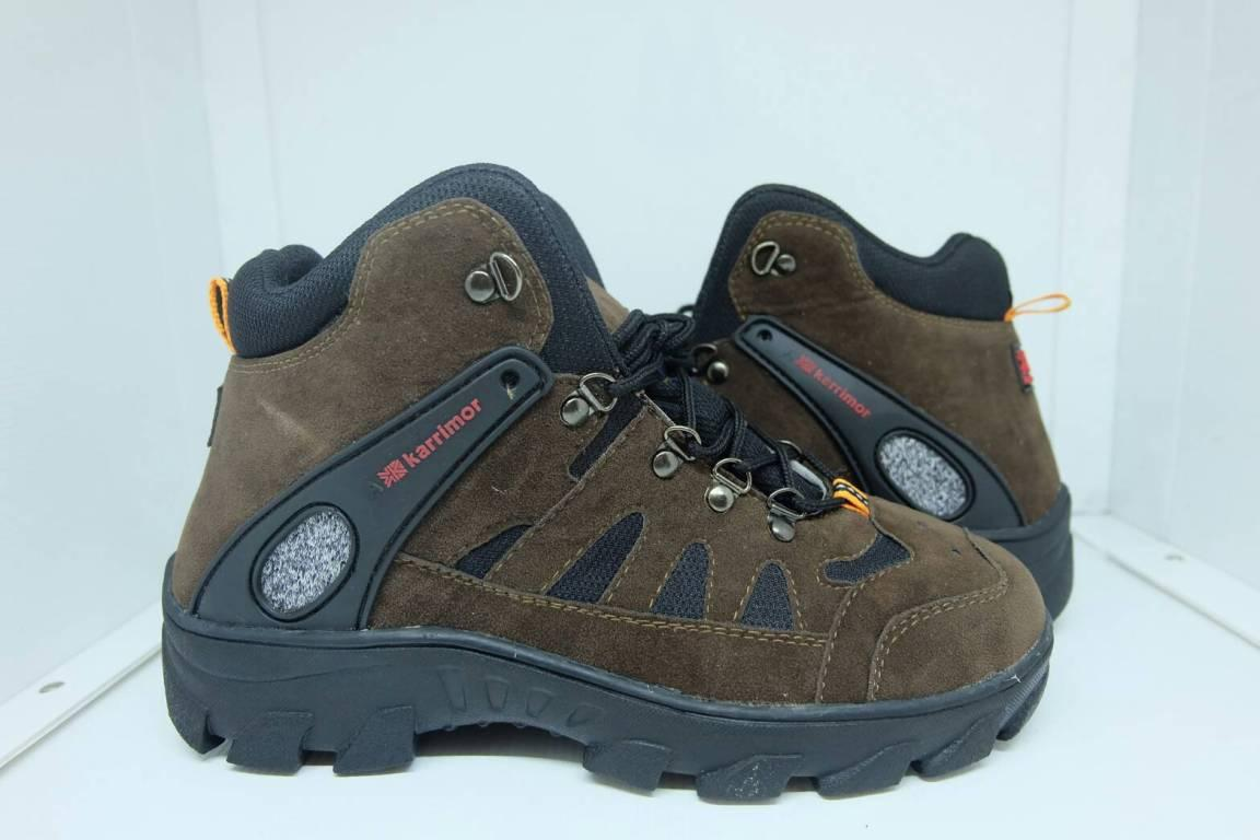 Sepatu karrimor gunung tracking hiking cowok outdoor traveling boots high  boot 2959fc8ee8