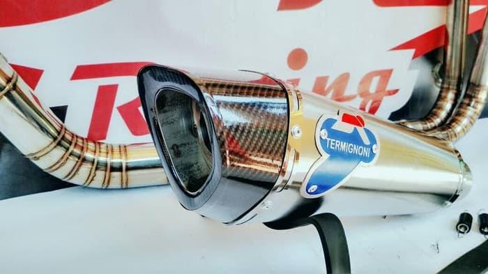 Knalpot Racing Kawasaki Z250 Termignoni Monster Titan By Dk Racing Bekasi.