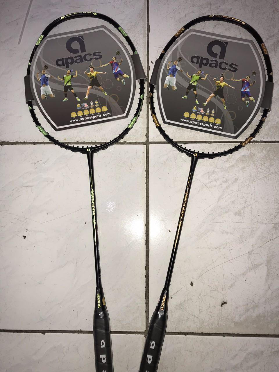 Raket badminton apacs sensous 10 original PROMO!!!