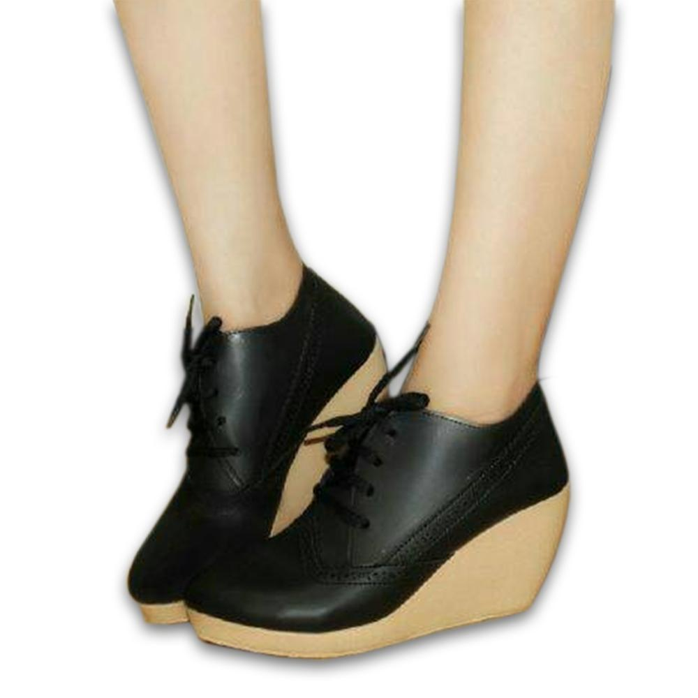 Sepatu Platform Wedges Wanita Sdw75 Daftar Harga Terlengkap Indonesia Elegan