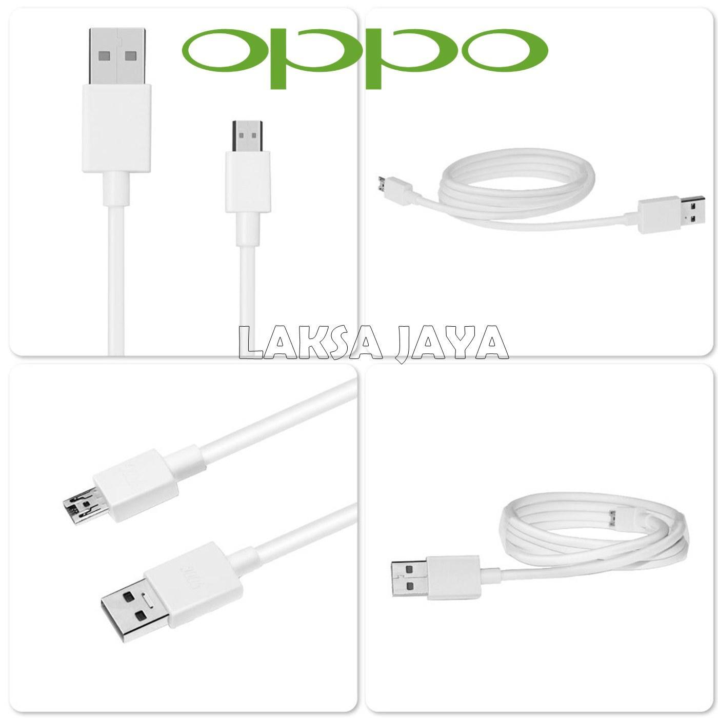 Oppo Kabel Data Micro USB 2A Fast Charging Dan Sync Transfer Data - Putih
