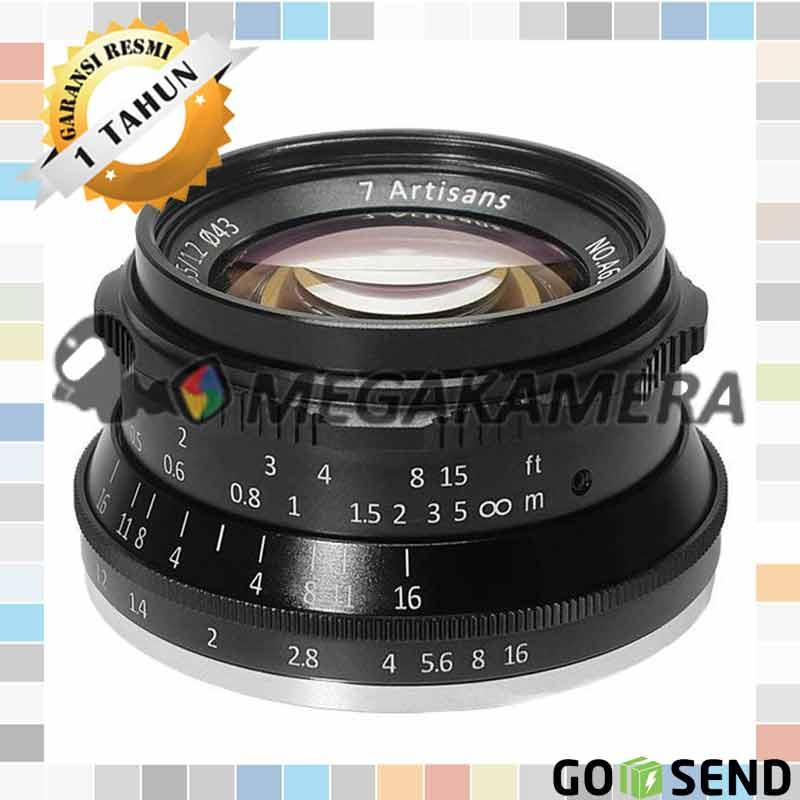 Lensa 7artisans 35mm F1.2 Prime Lens Mirrorless for Fujifilm - X Mount