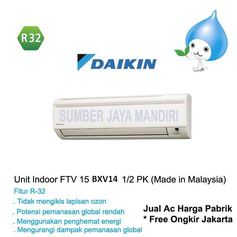 Ac Daikin Split FTV15BXV14 1/2 PK (MALAYSIA) - Putih