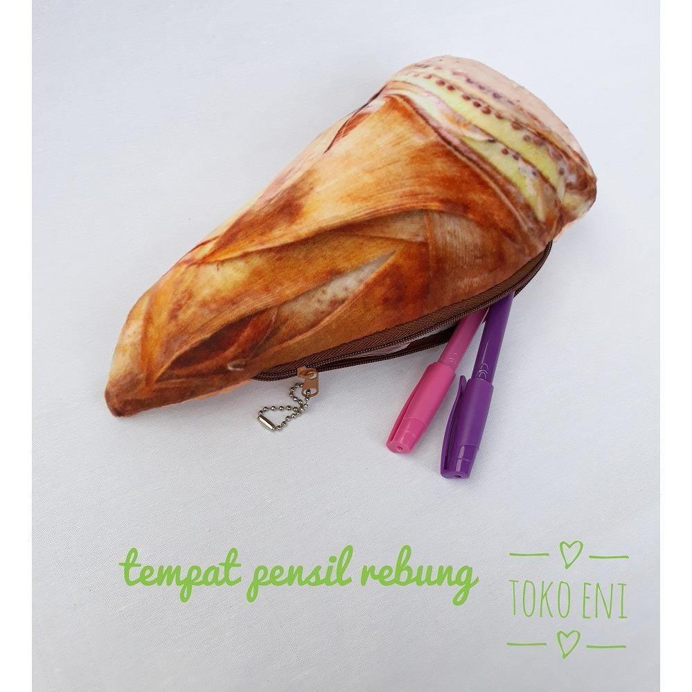 Tempat Pensil Karakter Sayur Dompet Sayuran Lucu / Rebung