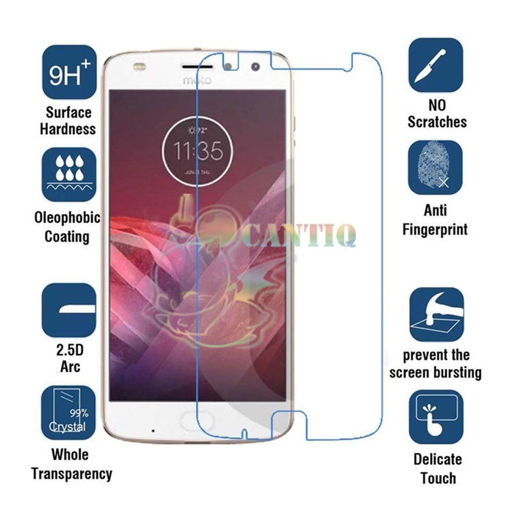 QCF Tempered Glass Motorola Moto Z2 Play / Anti Gores Kaca Motorola Moto Z2 Play / Temper Glass Motorola Moto Z2 Play / Screen Protector Motorola Moto Z2 Play / Pelindung Layar Motorola Moto Z2 Play - Clear