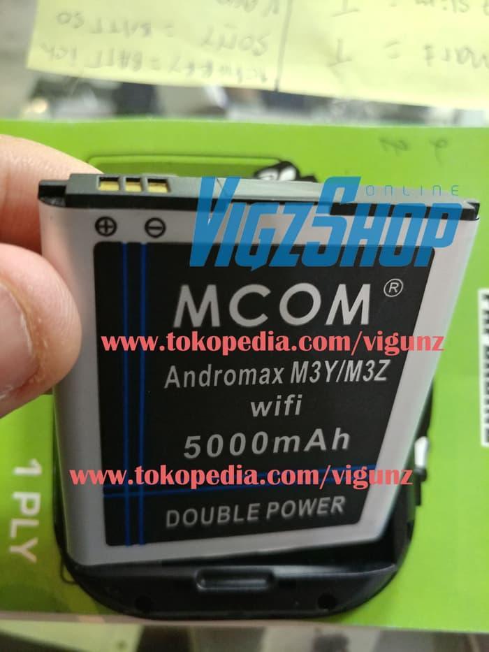 DISKON Baterai Modem Smartfren Andromax M3Y M3Z 5000mAh MCOM Double Power