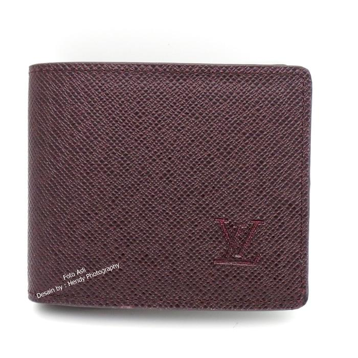 HOT SPESIAL!!! DOMPET PRIA KULIT ASLI IMPORT MURAH |LOUIS VUITTON 60223 RED - AUAn0Z