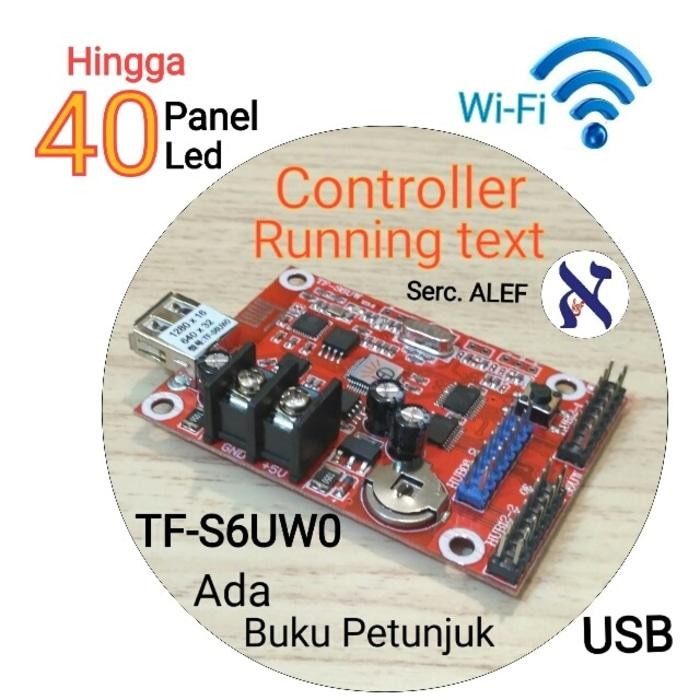 Spesial 15%!!!! Tf-S6Uw0 Wifi Usb Modul Control Running Text