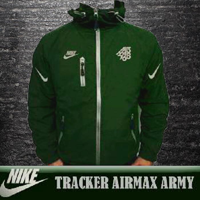 Jaket Tracker Nik Army By Jayaragastore.