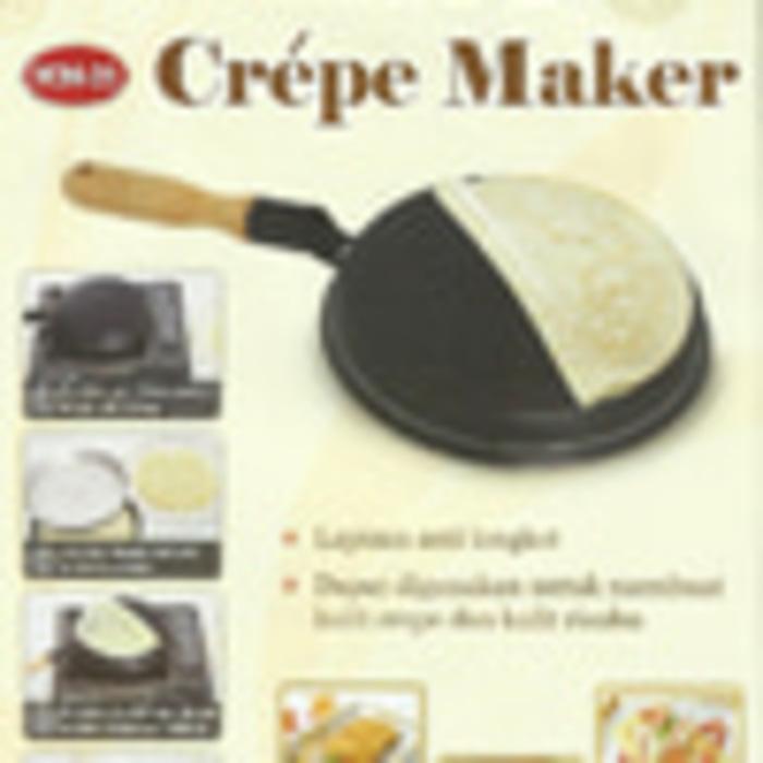 Crepe maker vicenza / wajan kwalik