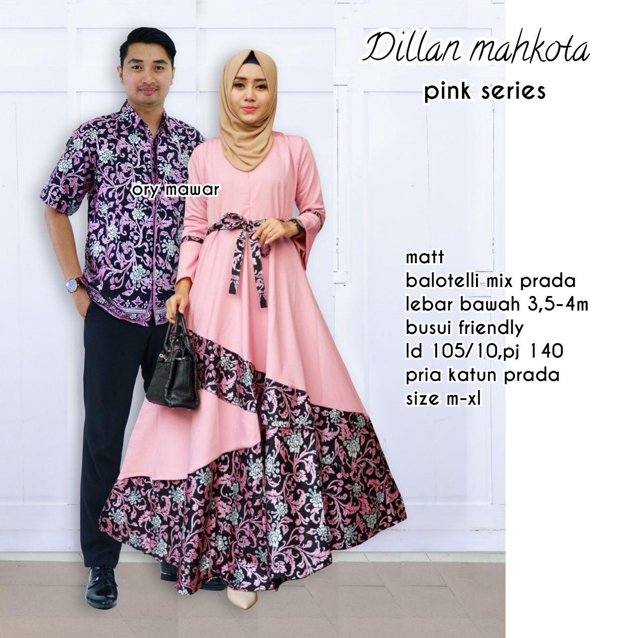 Batik Couple / Batik Sarimbit / Batik Keluarga - Dillan Mahkota