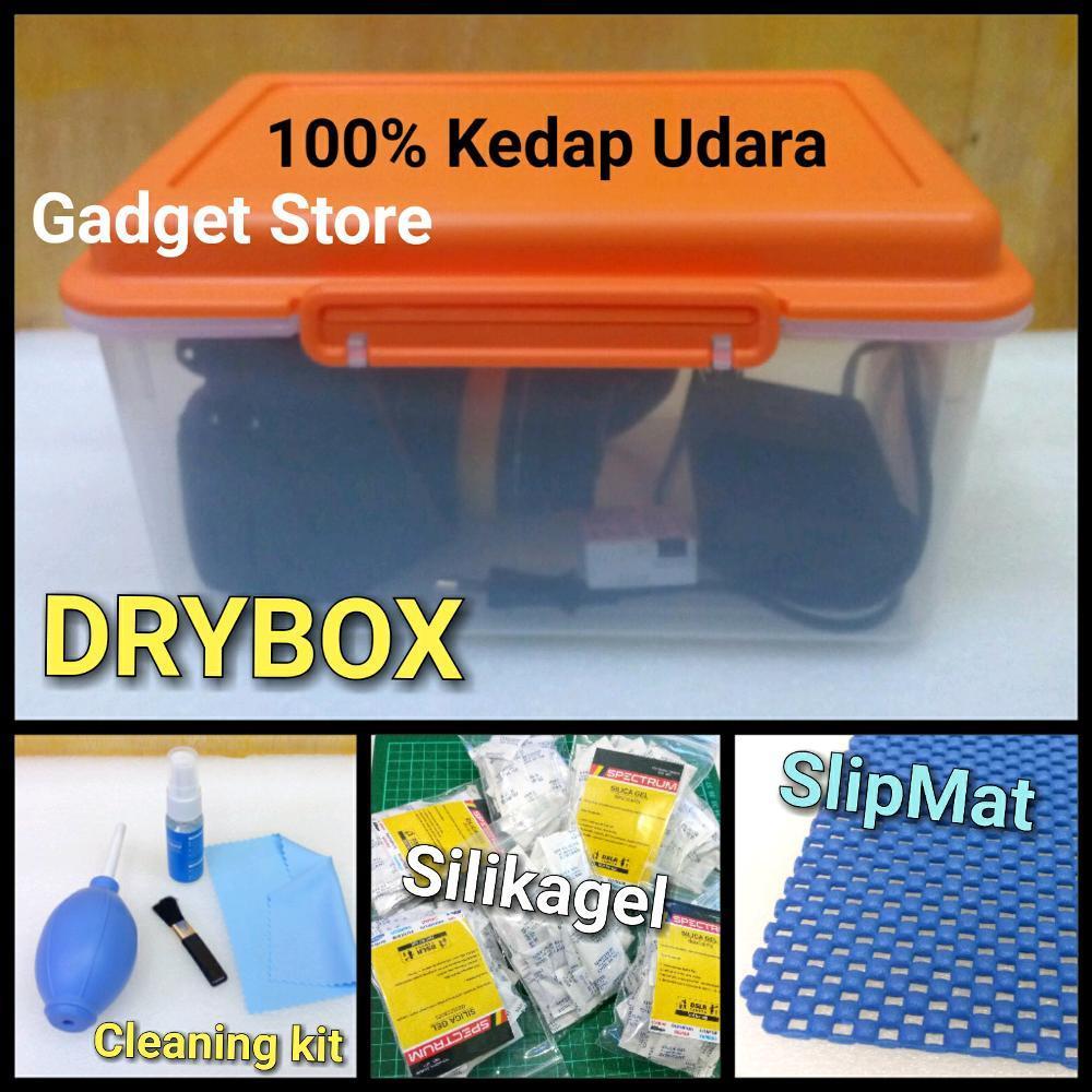 DRYBOX Kedap Udara. DSLR MIrrorles Prosumer Actioncam Handycam