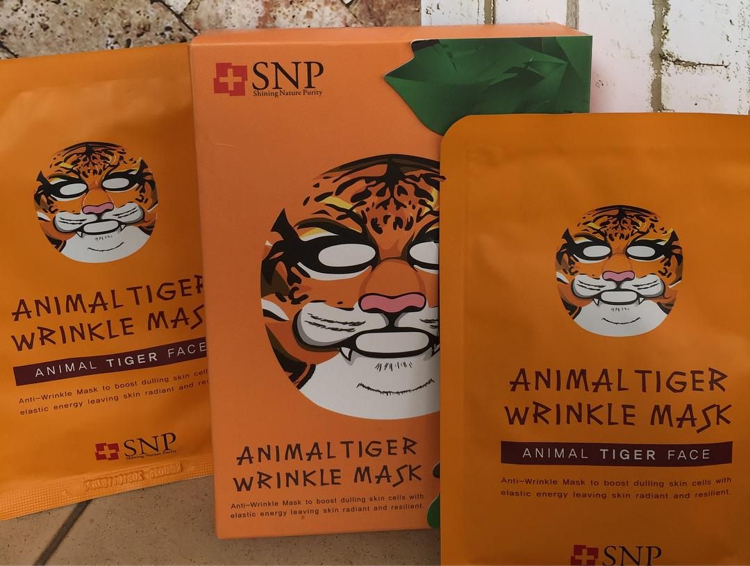 Buy Sell Cheapest Tiger Mask Best Quality Product Deals 10 Pcs Masker Animal Snp Sheet Original