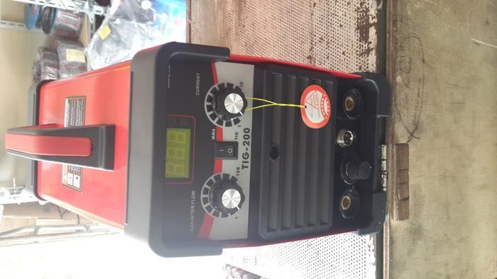 Promo mesin inverter las argon dc merk redbo tig 200 amp igbt Original