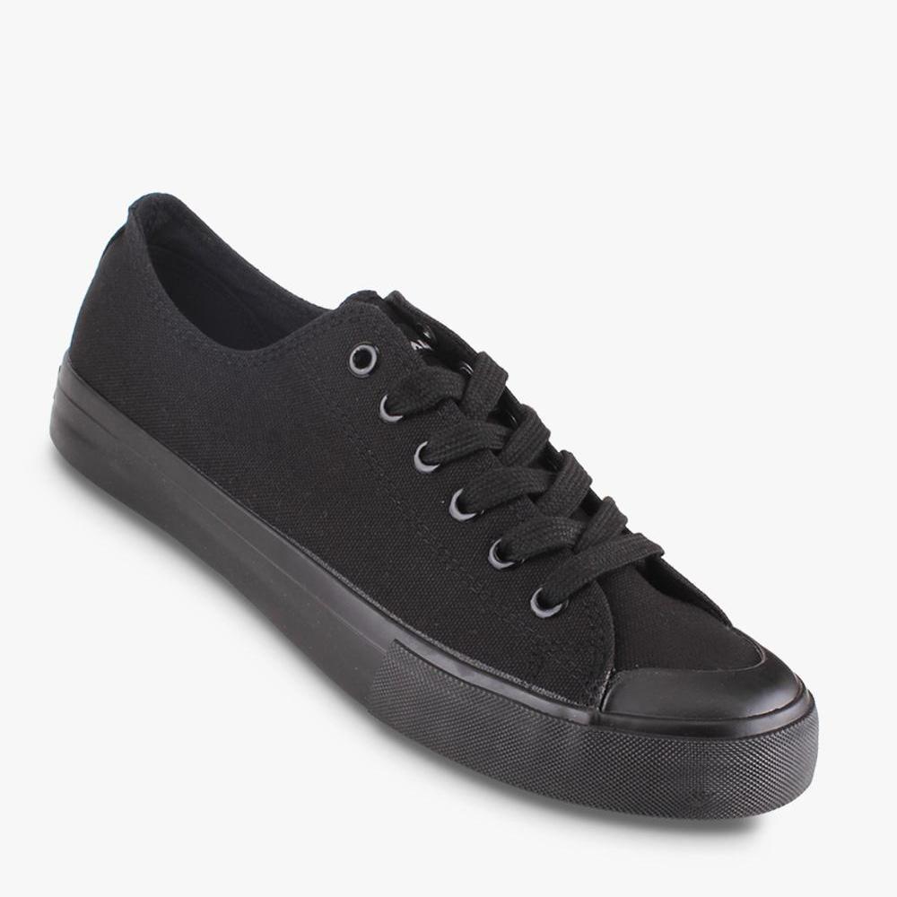 Airwalk New Basic Canvas Sepatu Sneakers Pria - Hitam - BTS bbffb5b428