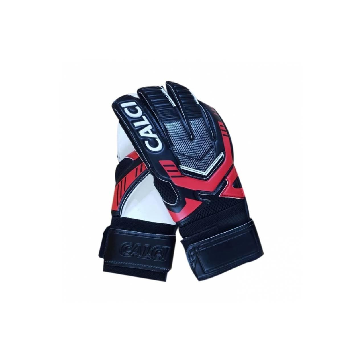 Jual Calci Sarung Tangan Kiper Barca GK Gloves - Black Red Murah