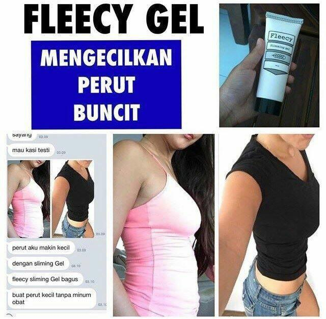 FLEECY SLIMMING GEL / FLEECY PELANGSING