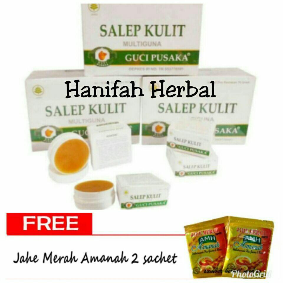 Buy Sell Cheapest Paket Hemat Salep Best Quality Product Deals P Guci Pusaka Kulit Gatal Multyguna 12 Botol Pusaka14 Gram