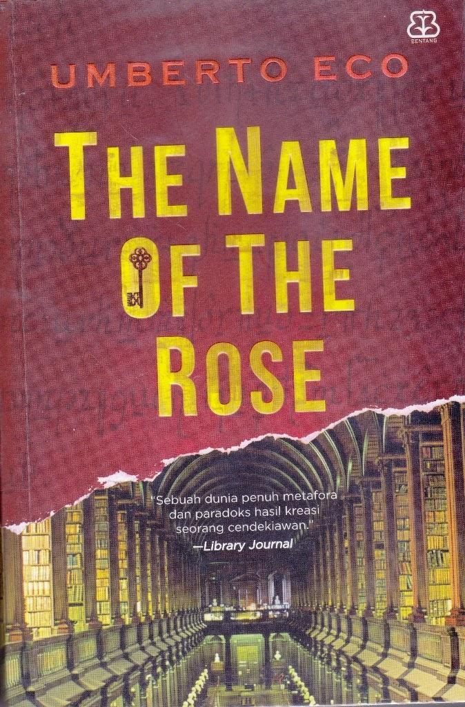 The Name Of The Rose (ori) -Umberto Eco- By Toko Buku Sosial.