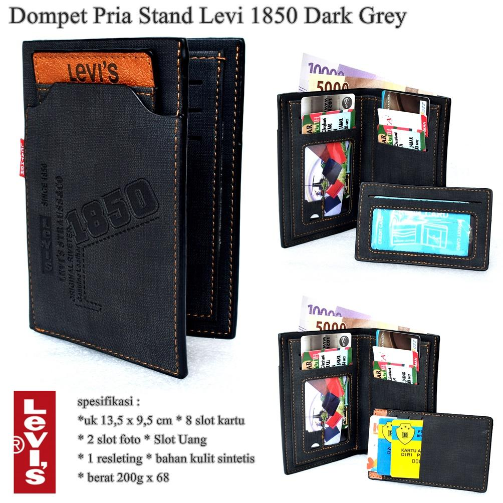 Buy Sell Cheapest Dompet Pria Levi Best Quality Product Deals Levis Kulit Sintetis Panjang Stand 1850