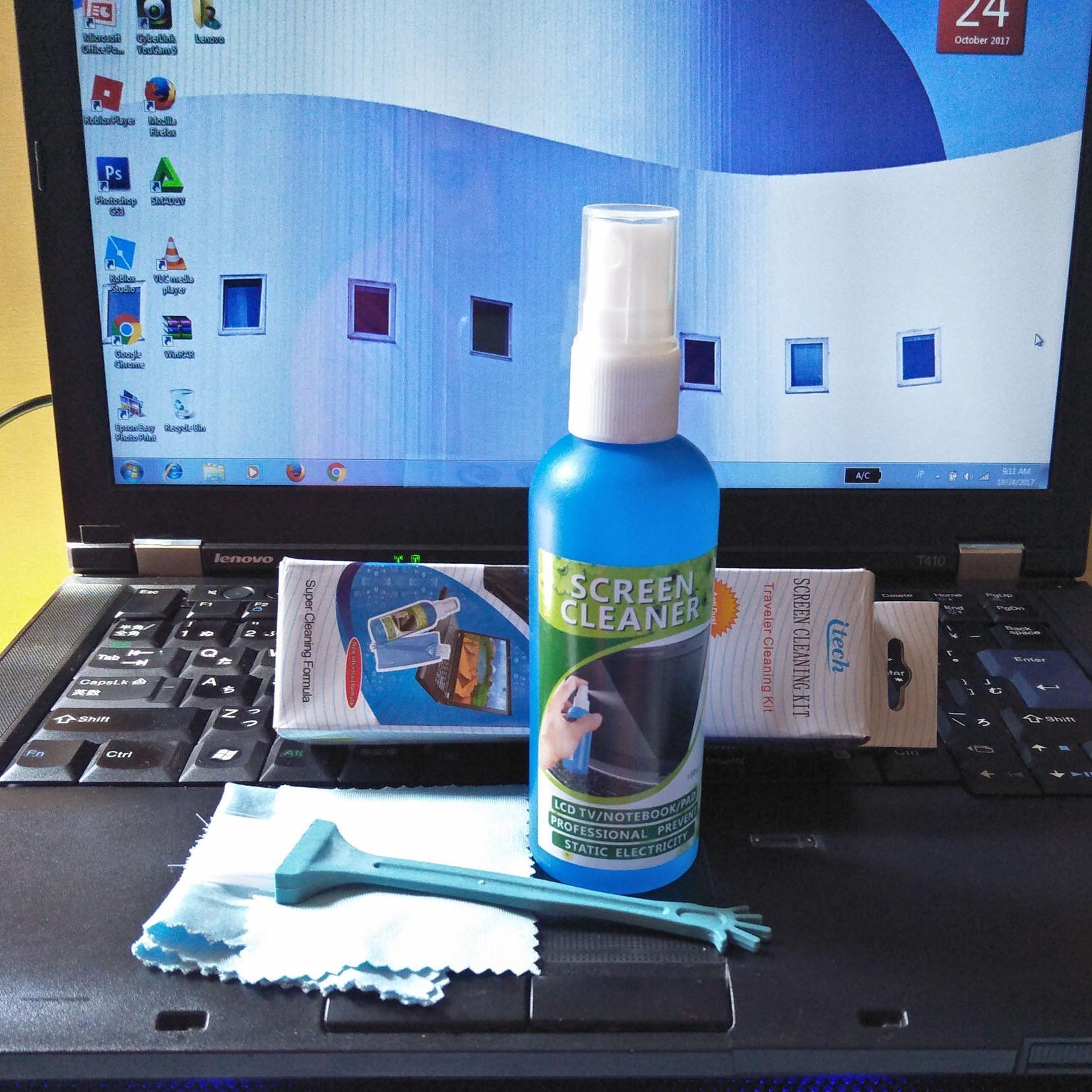Screen Cleaning 3 In 1 / Pembersih Layar LCD