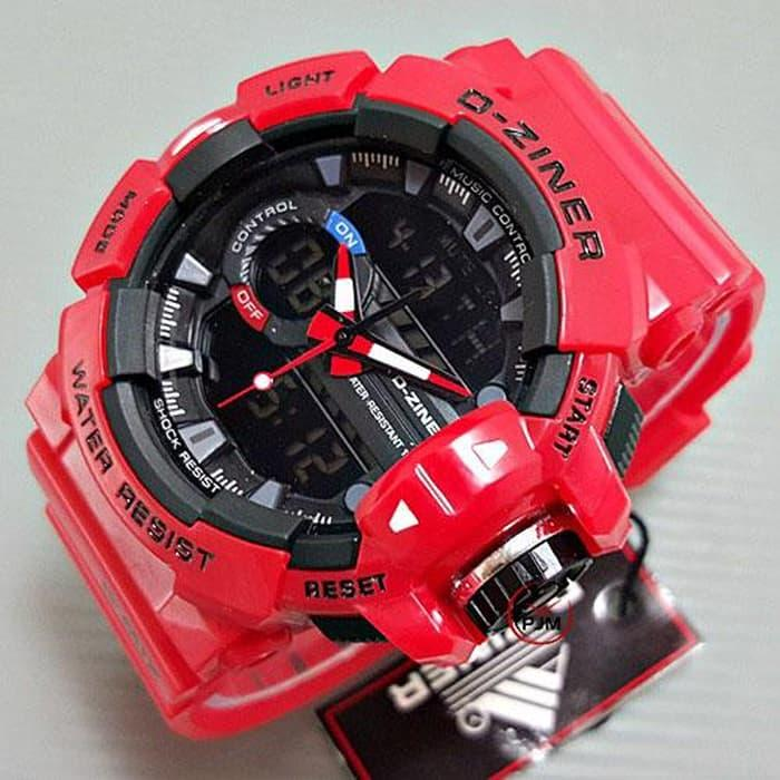 Original jam tangan PRIA ori anti air analog D-ZINER mirage rolex alba N12