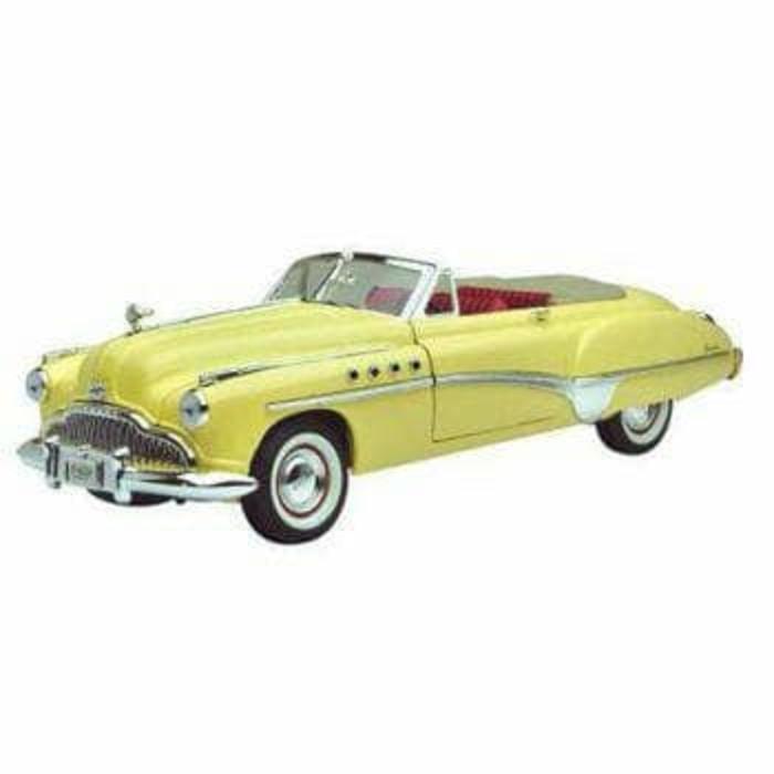 Motormax American Classic 1949 Buick Roadmaster Diecast - Kw9mnj