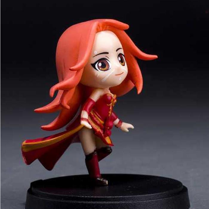 Action Figure Dota 2 Lina The Slayer 9 cm Karakter Mainan Game Hobby Pajangan Toys Hero Collection