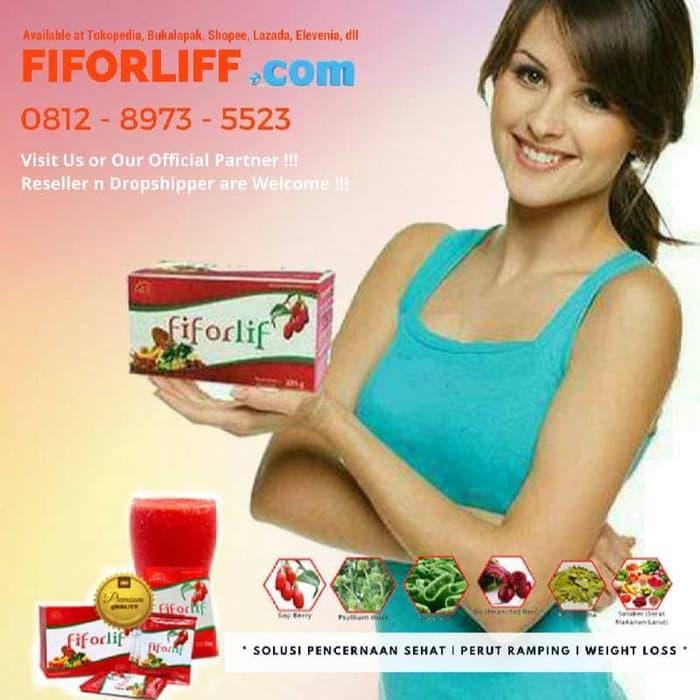Best Top Seller!! Obat Pelangsing Herbal Slimming Powder Fiforlif - ready stock