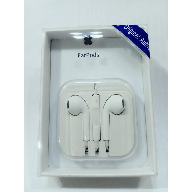 Handsfree Hf Headset Universal 3,5 mm for Iphone Samsung Vivo Xiomi Oppo Lenovo Asus Advan Evercross Blackberry Acer- Foto Asli