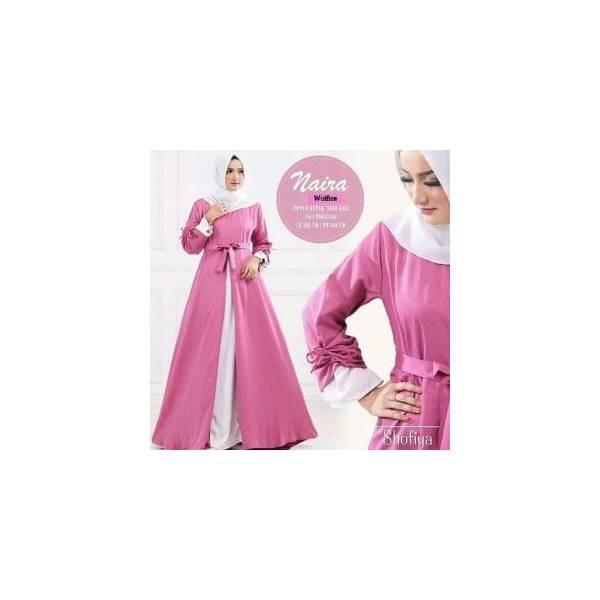 Jual Murah Baju Muslim Murah/Grosir Baju Muslim Murah/Naira Maxy