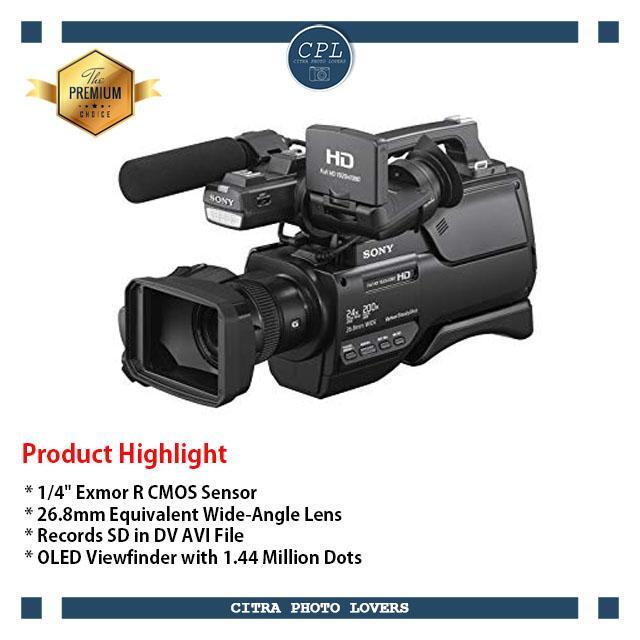 Sony HXR-MC2500 Shoulder Mount AVCHD Camcorder - Hitam