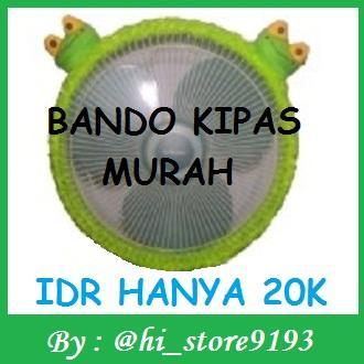 Bando Kipas KEROPI /Sarung Kipas KEROPI Hijau Bahan Bulu Halus Berkualitas
