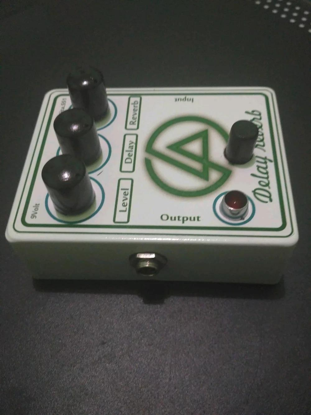 Delay Reverb Pedal Effect Guitar