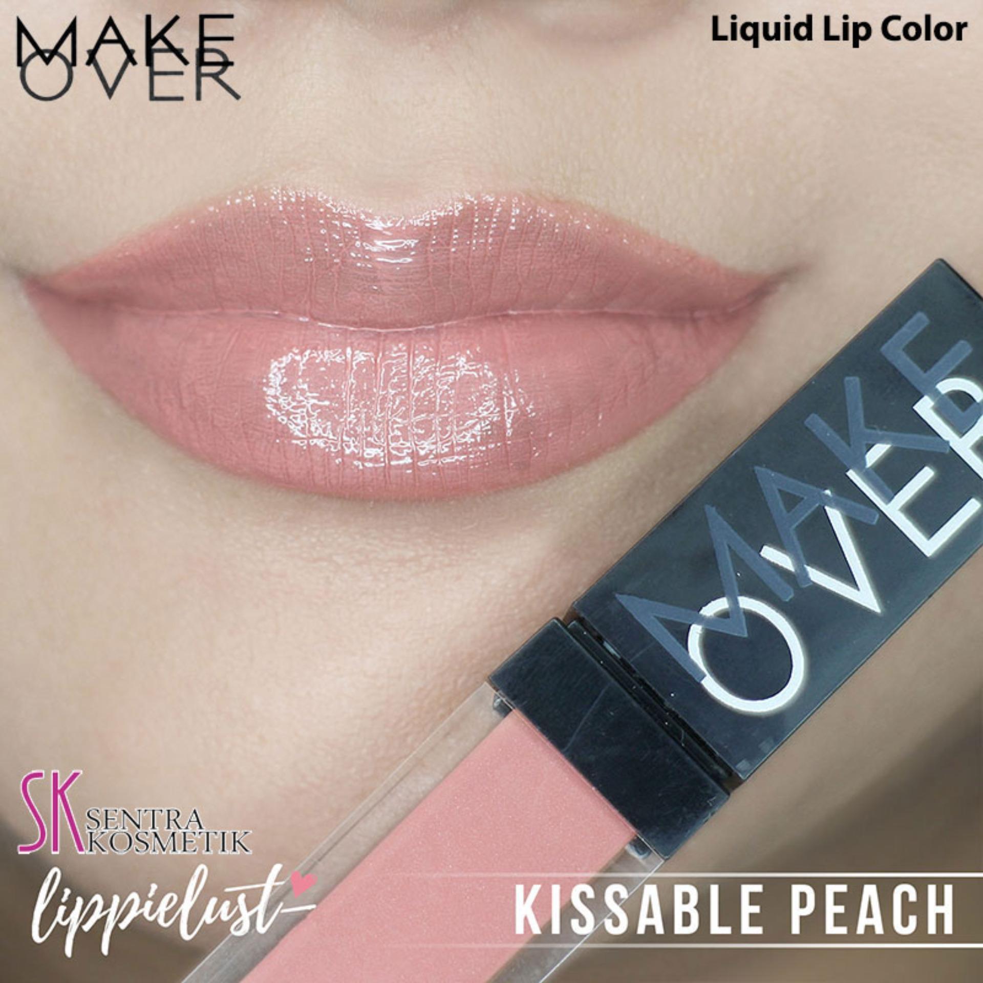 MAKE OVER Liquid Lip Color - Kissable Peach