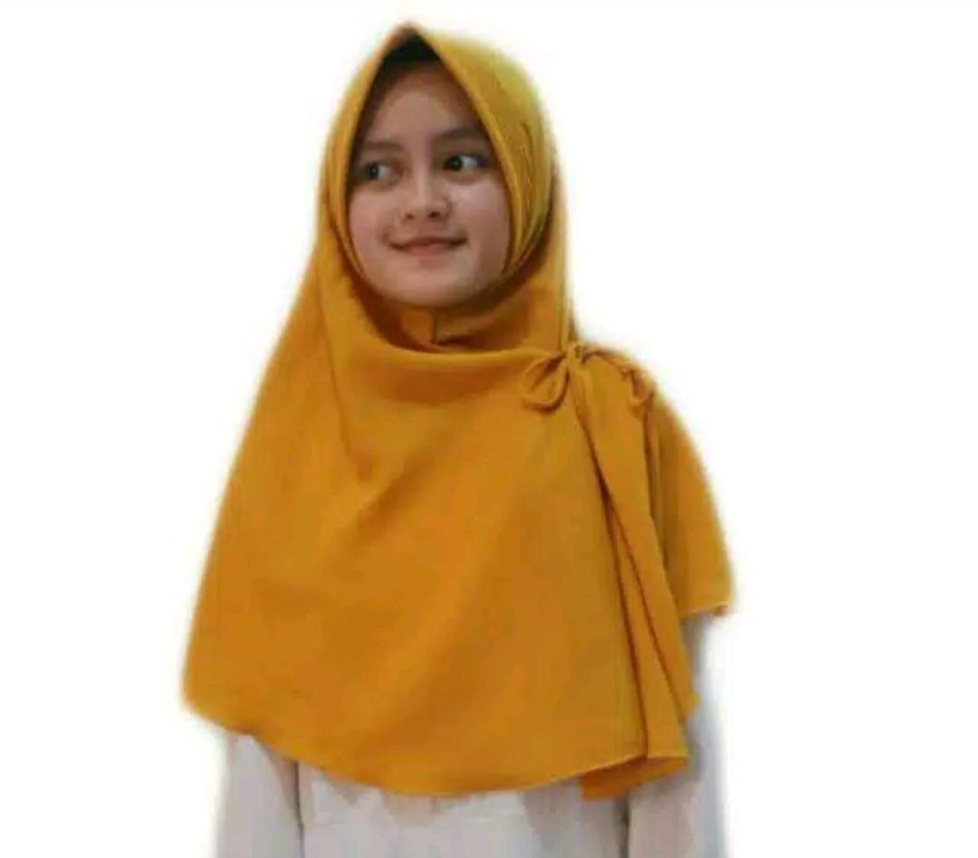 Khimar Pet jumbo/ hijab instan AURORA purplelily