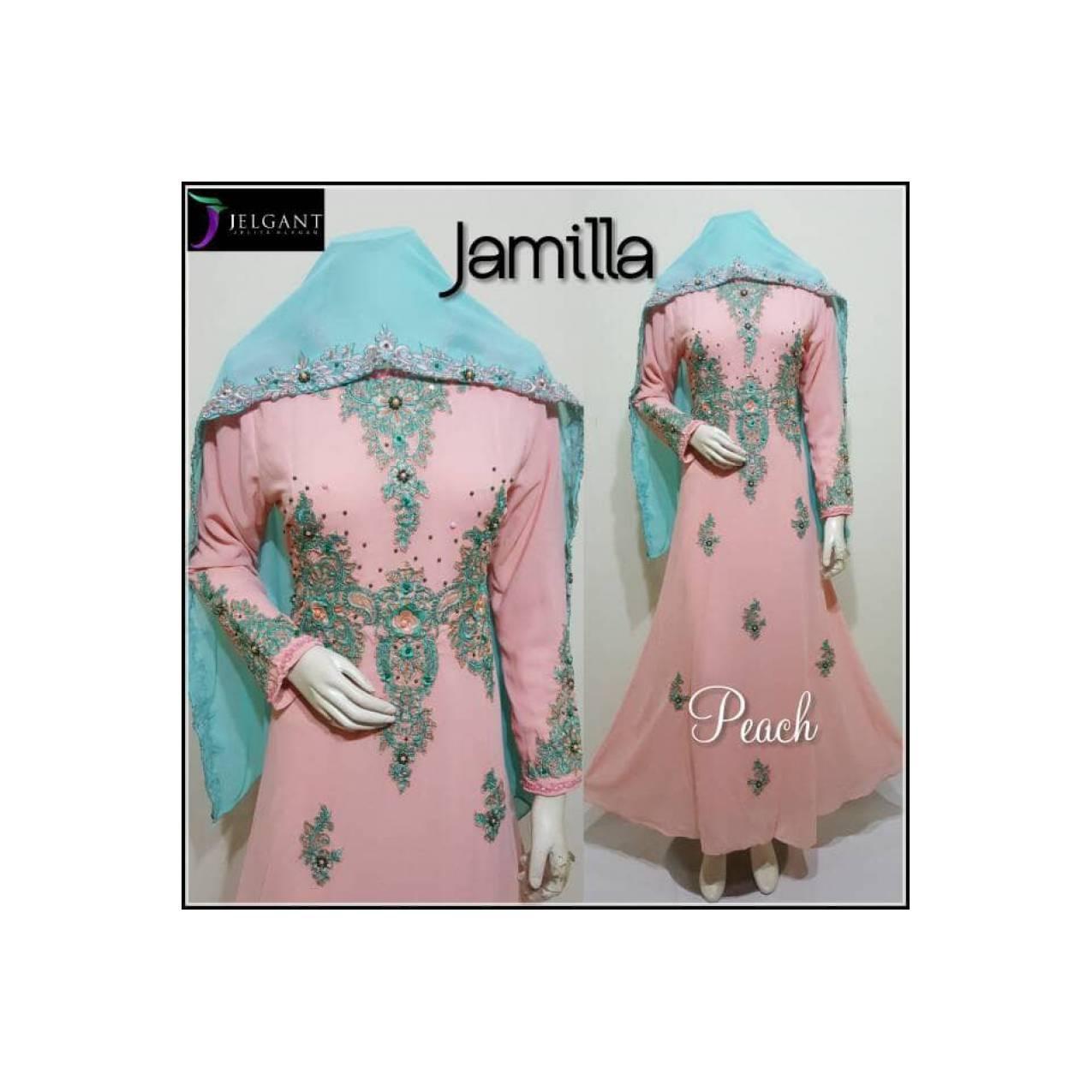 Baju Gamis Wanita Modern Untuk Pesta JAMILLA DESIGN