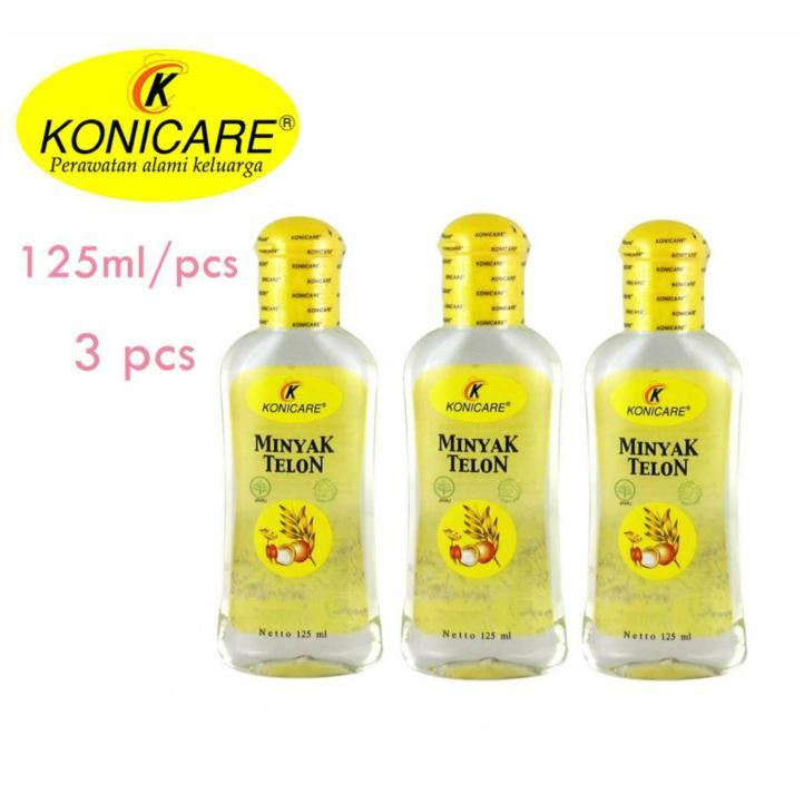 Konicare Minyak Telon 125ml - 3pc