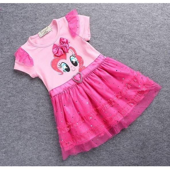 Dress Anak My Little Pony Pinky Pie DR-26