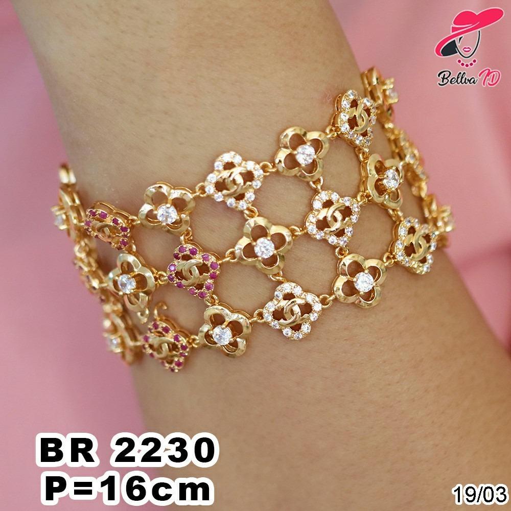 Gelang Rantai Chanel Gold R 2230