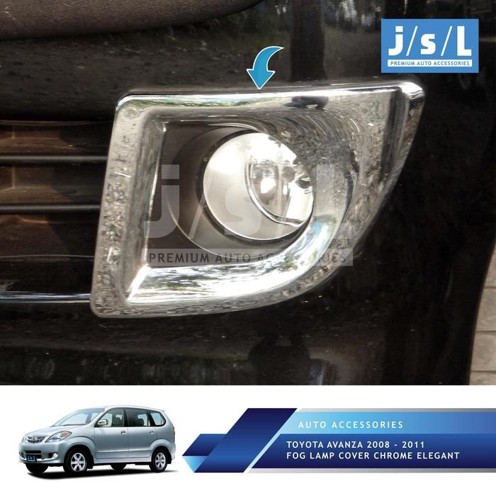 Toyota Avanza 2008 – 2011 Fog Lamp Cover Chrome Elegant
