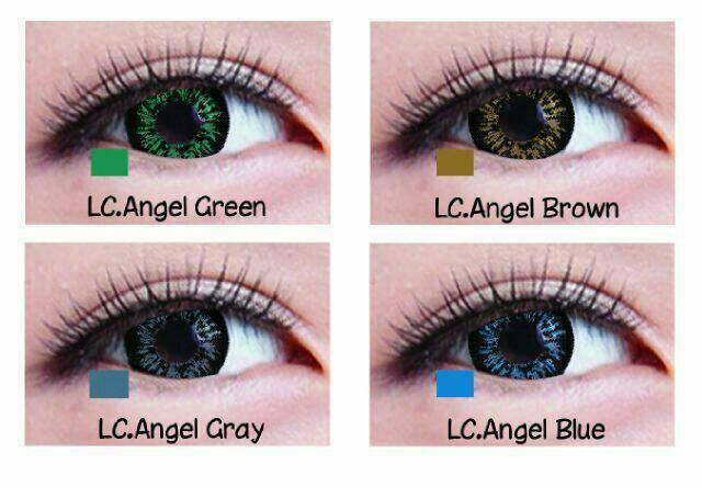 softlens living color angel i tone